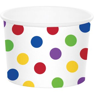 Dot Treat Paper Disposable Cup (Set of 24)