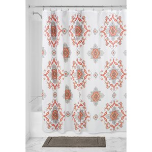 Medallion Paisley Shower Curtain
