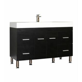 Latitude Run Alican 89 Wall Mounted Double Bathroom Vanity Set Wayfair