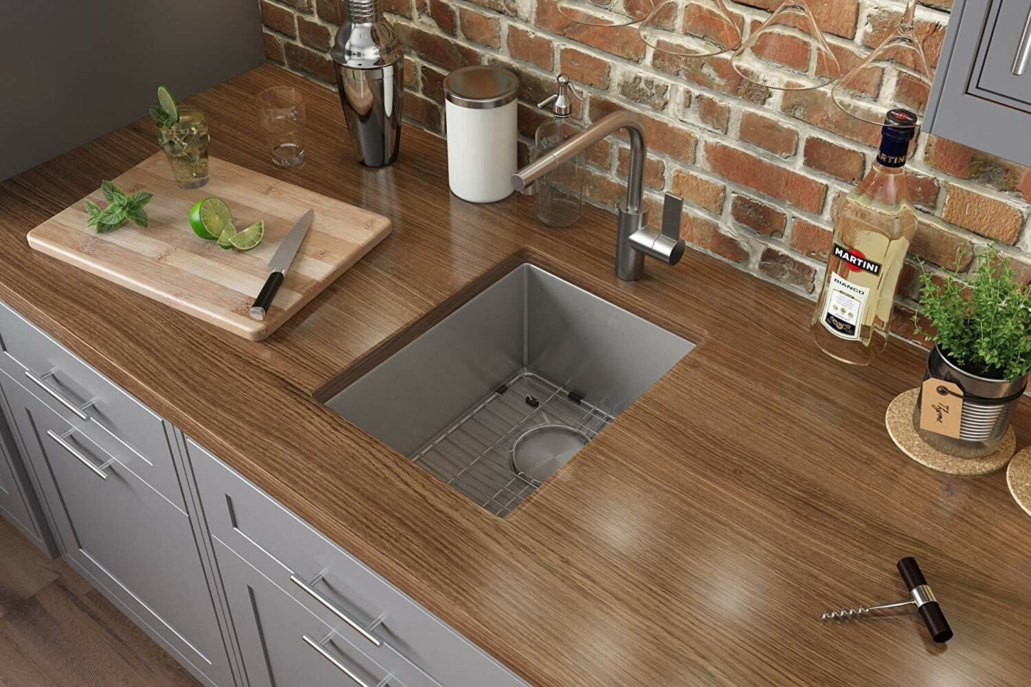 Ruvati 16 L X 18 W Undermount Kitchen Sink