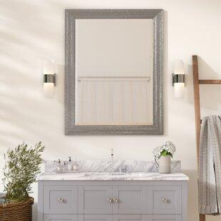Check Prices Brynlee Beveled Edge Bathroom/Vanity Wall Mirror ByZipcode Design