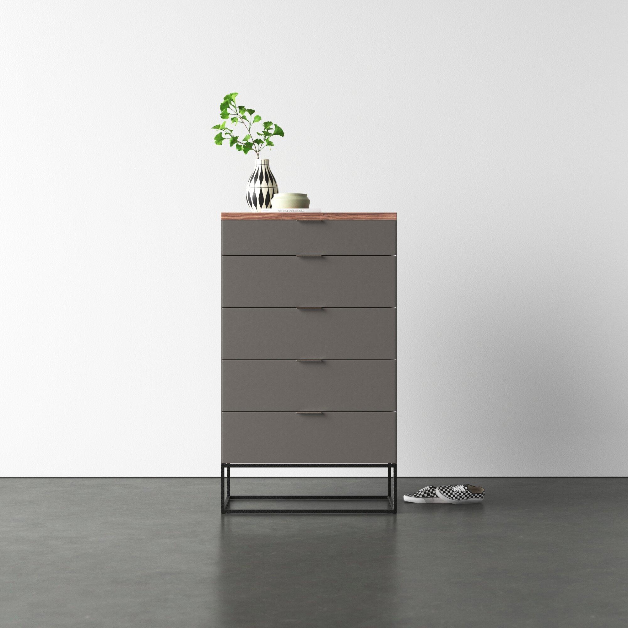 Modern Industrial Accent Cabinets Allmodern