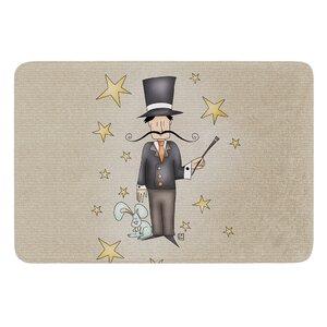 Circus Magician by Carina Povarchik Bath Mat