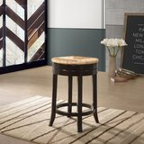 Plattsmouth Swivel Bar & Counter Stool by Three Posts