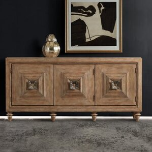 Melange Paramount 3-Door Credenza by Hooker Furniture