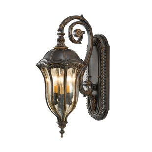 Reviews Gloucester 3-Light Outdoor Wall Lantern By Astoria Grand