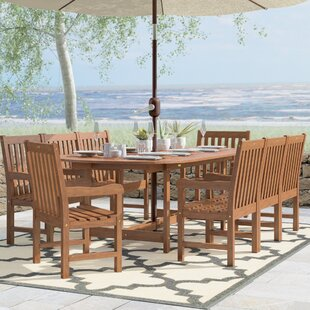 Eades 9 Piece Dining Set