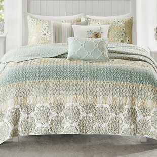 Tappen 6 Piece Reversible Coverlet Set