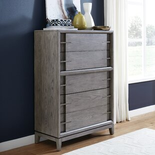 Eichhorn Wood 5 Drawer Chest by Brayden Studio Coupon