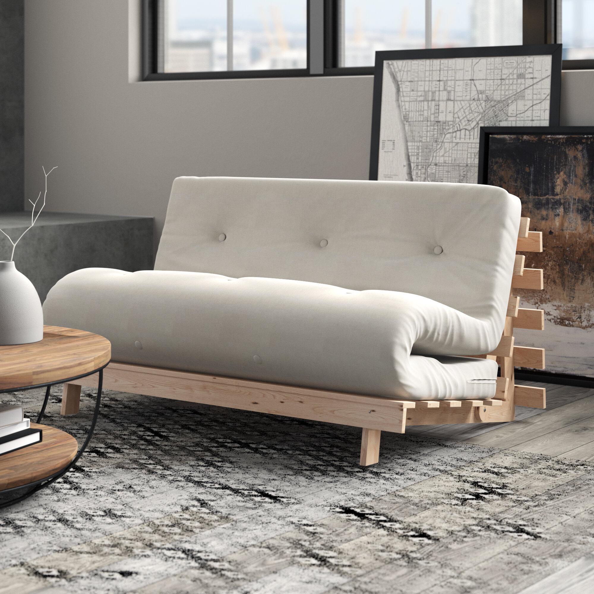 17 Stories Clarkedale Futon Sofa