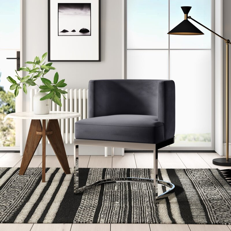 Victor Upholstered Dining Chair & Reviews   AllModern