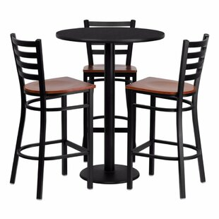 Philbrook 4 Piece Pub Table Se..