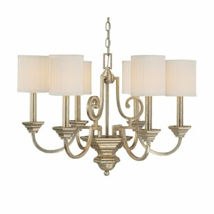 Alcott Hill Ellicott Mills 6-Light Shaded Chandelier