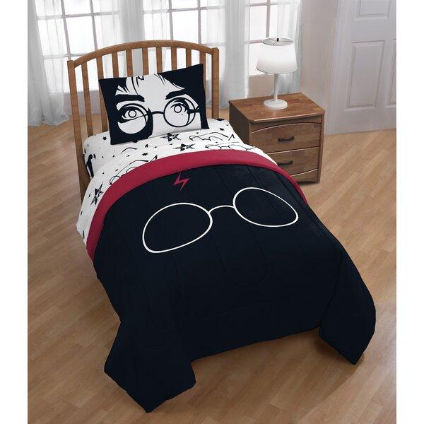 Warner Brothers Harry Potter Always 4 Piece Reversible Comforter Set
