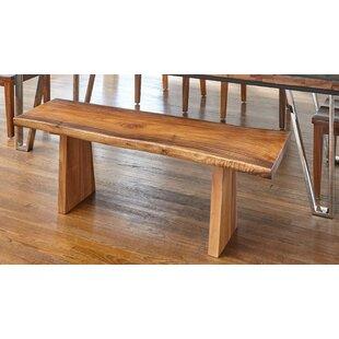 Hokku Designs Lily Wood Bench