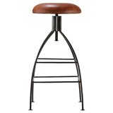 Catharine Swivel Adjustable Height Bar Stool by Union Rustic