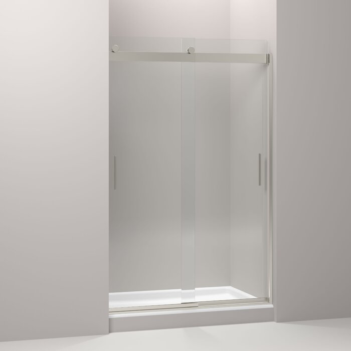 Levity 47 58 X 74 Byp Shower Door With Cleancoat Technology