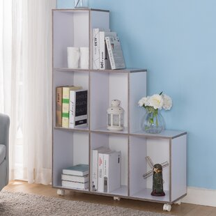 Lea Modern Mobile Step Bookcase by Ebern Designs