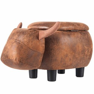 Traxler Buffalo Storage Ottoma..