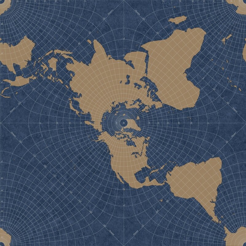 World Menagerie Smiddy 33 L X 20 5 W Maritime Map Wallpaper Roll