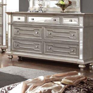 Ronna 7 Drawer Double Dresser