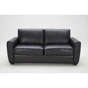 Ventura Leather Sleeper By J M Furniture