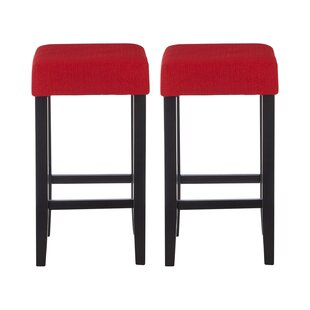 Parnassus 69cm Bar Stool (Set Of 2) By Ophelia & Co.