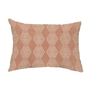 Macon Pyramid Stripe Indoor/Outdoor Lumbar Pillow