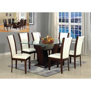 Titania Rectangular Dining Table Latitude Run