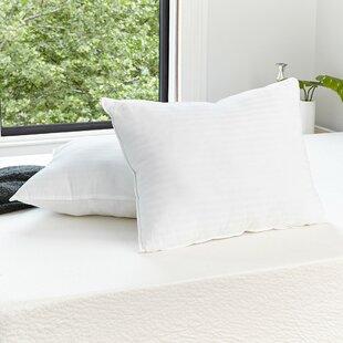 Alwyn Home Quiet Sleep Gel Fiber Standard Pillow (Set of 2)