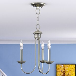 Andover Mills Lakemoor 3-Light Candle Style Chandelier