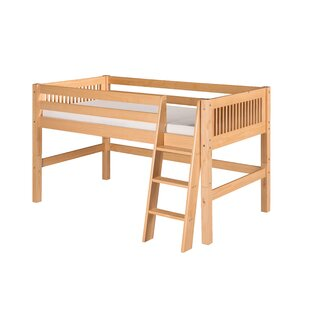 Oakwood Rustic Twin Low Loft Bed