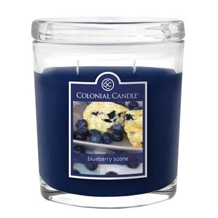 Blueberry Scone Jar Candle