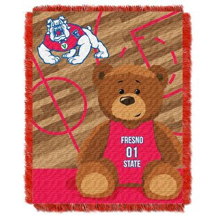 Comparison Collegiate Fresno State Baby Throw By Northwest Co.
