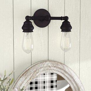 Guide to buy Ivie 2-Light Vanity Light ByLaurel Foundry Modern Farmhouse