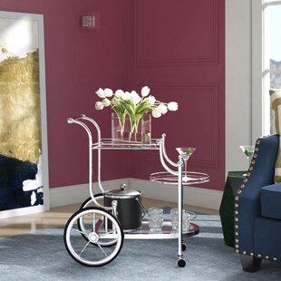 Hardy Bar Cart by House of Hampton