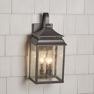 Briarfield 3-Light Outdoor Wall Lantern by Birch Lane™ Heritage
