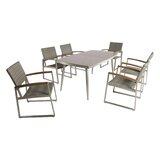 Bonifacio Outdoor 7 Piece Dining Set