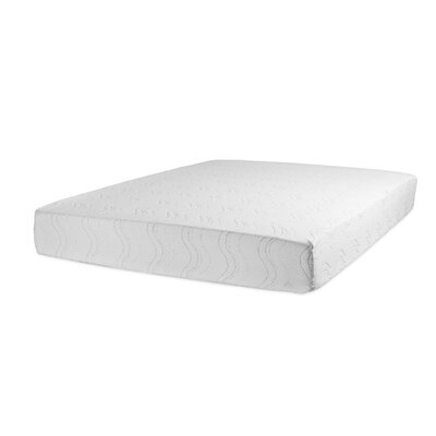 "10"" Gel Memory Foam Mattress Glideaway Mattress Size: Full"