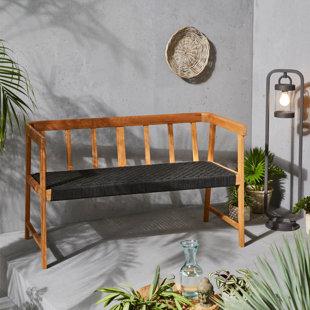 Gatewood Wooden Bench By Corrigan Studio