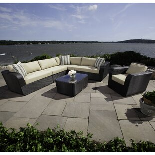 Madbury Road Malta 6 Piece Sectional Set with Cushions