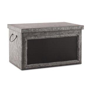 Read Reviews Metal Box with Blackboard Panel Display By Weddingstar