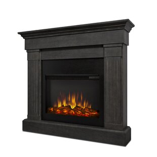 Crawford Wall Mounted Electric Fireplace by Real Flame