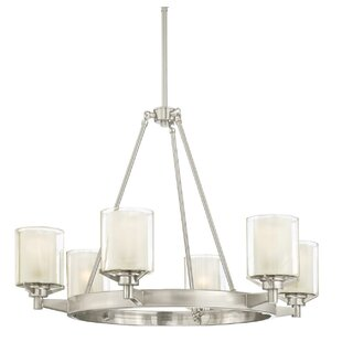 Darby Home Co Johns Indoor 6-Light Chandelier