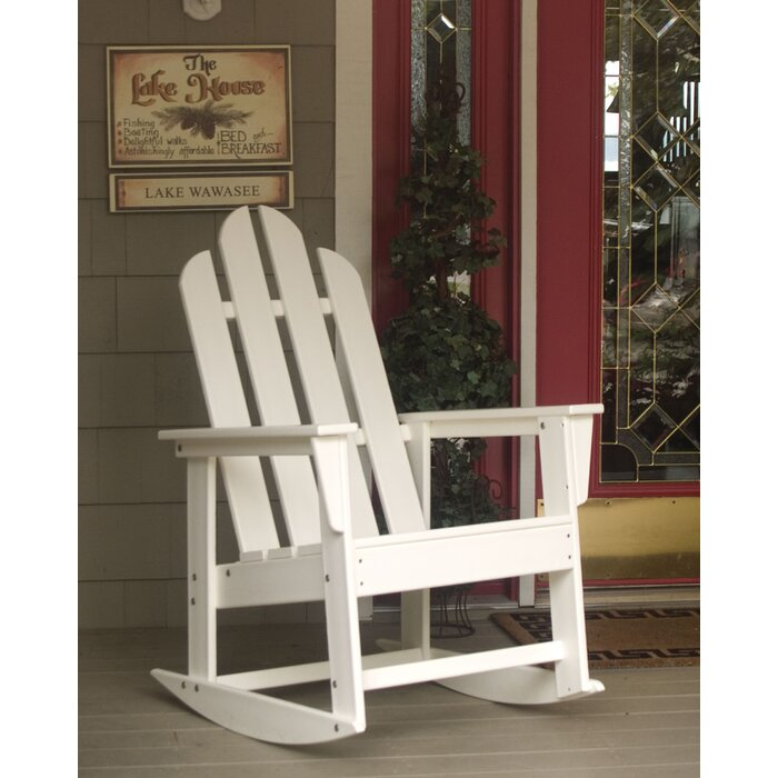 Excellent Long Island Plastic Resin Rocking Chair Ocoug Best Dining Table And Chair Ideas Images Ocougorg