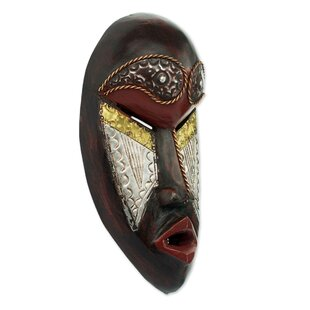 African Warrior Mask Wayfair