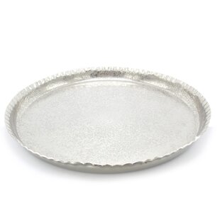 Round Splatter Serving Tray