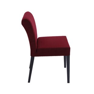 Jackson Parsons Chair in Wool - Red by Nuans