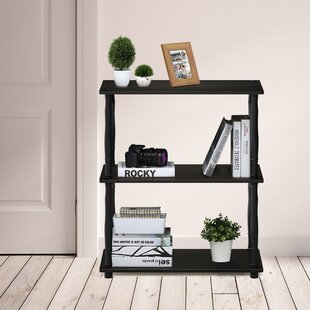 Coupon Silas 3 Tier Etagere Bookcase By Ebern Designs