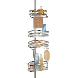 Duff Tension Shower Caddy By Rebrilliant